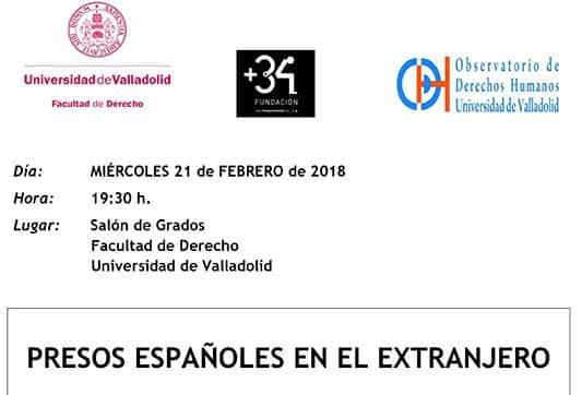 La letrada Nuria Pérez participa en la ponencia sobre presos españoles en el extranjero en la Universidad de Valladolid